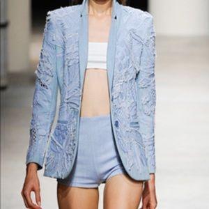 Barbara Bui Runway Denim Booty Shorts